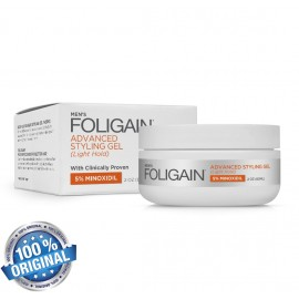 FOLIGAIN MINOXIDIL 5% HAIR REGROWTH STYLING GEL For Men (2oz) 60ml