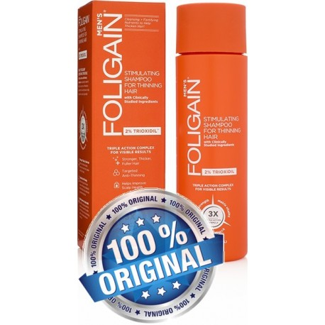 FOLIGAIN HAIR REGROWTH SHAMPOO For Men with 2% Trioxidil®